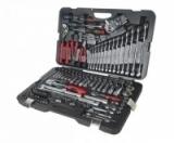 Набор инструментов 145 предметов слесарно-монтажный 1/4,1/2 6-ти гран. (кейс) JTC-H145C
